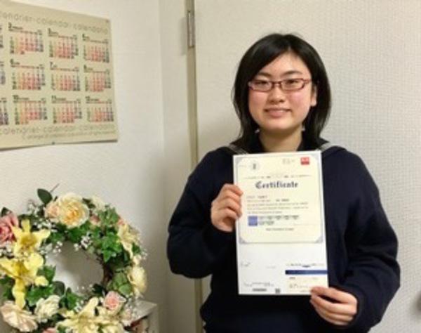 祝・英検2級合格中3生サエさん ★ 英作文は650点満点獲得!