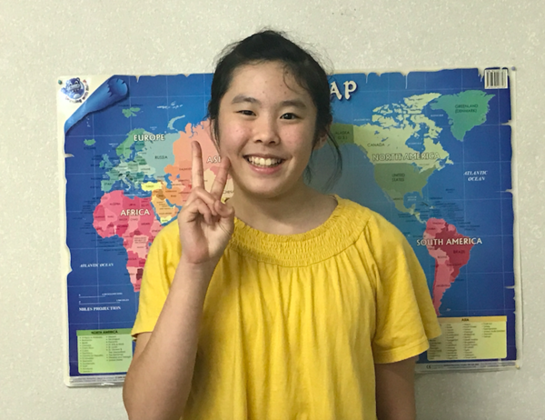 祝・小6生ミオさん ★英語スピーチコンテスト最優秀賞受賞 動画