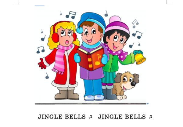 """発音レッスンビデオ ★  """"Jingle Bells"""" 🎶"""