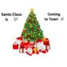 """発音レッスンビデオ ★  """"Santa Claus is Coming to Town""""  🎶"""