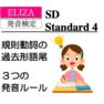 発音検定SD4級(1) ★ used, visited, stopped  等−ed の発音!音源付き
